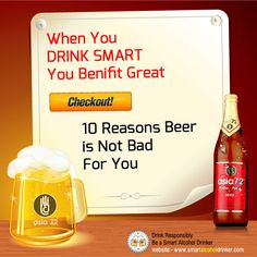10 Reasons #beer is not bad for you !! Click here :- http://bit.ly/RqNqKj  #Party   #Drink   #alcohol