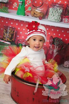 Baby Christmas Poinsettia Hat by HandcraftLoribelle on Etsy, $24.00