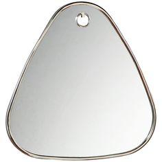 Interlude Home Bella Triangular Mirror
