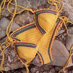 Crochet Bikini Brazilian Women Swimwear Bathing Suit
