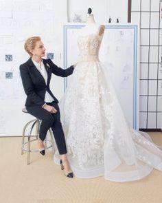 A Diary of the Making of a Wedding Dress: Behind-the-Seams with Carolina Herrera | Martha Stewart Weddings