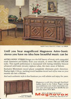 Your place to buy and sell all things handmade Vintage Advertisements, Vintage Ads, Vintage Stereo Console, Radio Record Player, Historical Artifacts, Vintage Music, How Beautiful, Own Home, Original Artwork