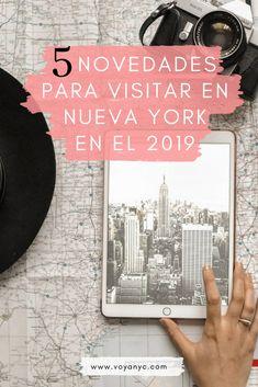 5 Razones para visitar Nueva York este 2019. Si es tu primera vez en NY tendrás mucho más por ver... Y si ya has viajado a New York, esta es la excusa perfecta para regresar! New York Travel Guide, New York City, New York Trip, Road Trip Usa, Travel Usa, Travel Guides, Nyc, Manhattan, Travelling