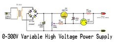 Please visit Electronic Circuit: Variable High Voltage Power Supply for more detail information. Cool Electronics, Electronics Components, Electronics Projects, Electrical Projects, Electrical Wiring, Electronic Engineering, Electronic Circuit, Arduino Class, Electronic Gadgets For Men