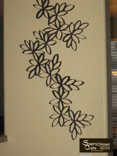 arte parede rolos de papel higienico - Pesquisa Google