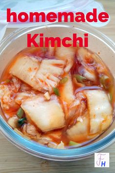 Der Klassiker der koreanischen Küche nach einem Familienrezept. Kimchi, Kitchen Witch, Asian Recipes, Homemade, Chicken, Meat, Cooking, Healthy, Blog