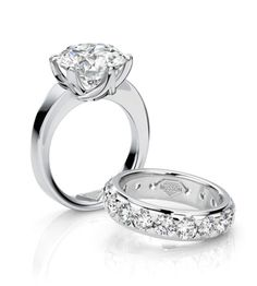 Elegance  Incredible diamonds deserve incredible settings. Displaying Musson's ability to reinvent the ordinary 'Elegance' is a six claw setting unlike any other. The entwining claws allow the beauty of the diamond to shine through whilst providing the essential support that a precious gem deserves.