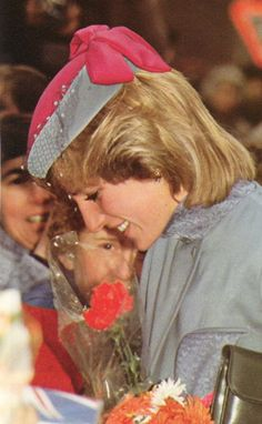 Princess Diana, November 1983