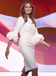Celebrity Dresses: Celebrity Inspired Dress. Melania Trump Dress. Prom Dress. Formal Dress. BUY IT NOW ONLY: $249.0