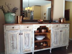 A very elegant but rustic buffet made by Furniture From The Barn. Dining Area, Dining Table, Dining Room, Rustic Buffet, Farmhouse Style Furniture, Reclaimed Wood Furniture, Barn Wood, Home Furnishings, Kitchen Remodel