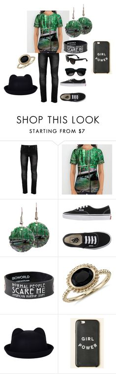 """""""Across the Bridge Style"""" by momadventurist on Polyvore featuring Vans, Blue Nile, Balenciaga, women's clothing, women, female, woman, misses and juniors"""