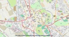 Map Of Oxford City Centre