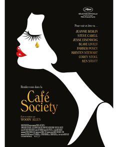 On vous dévoile l'affiche de Café Society de Woody Allen ! Le film fera l'ouverture du 69ème festival de Cannes le 11 mai prochain. #WoodyAllen