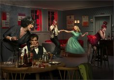 Wit: blog about theater, travel, history, vintage photograph and everything that's English.: Erwin Olaf ~ DeLaMar Theater