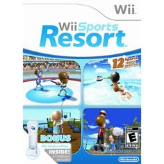 Wii Sports Resort takes place on a tropical island. Description from dascheap.com. I searched for this on bing.com/images