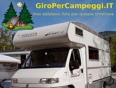 Area Attrezzata Camper Valle del Vanoi di Canal San Bovo #giropercampeggi #campeggi #camper #tenda