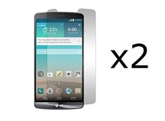 LG G3 Vigor  2 Pack  Premium Clear Screen Protector Guards  Atom LED Keychain Flashlight *** See this great product.