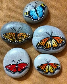 1000 images about pebbles and Pebble Painting, Pebble Art, Stone Painting, Diy Painting, Painted Rock Animals, Painted Rocks Kids, Mandala Painted Rocks, Painted Stones, Rock Painting Ideas Easy