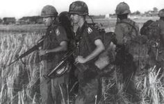 Major and RTO of the 173rd Airborne Brigade, 1966