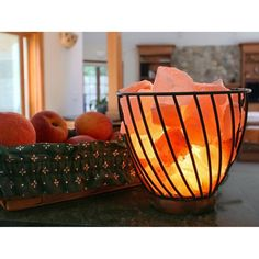 "Salt Lamp Target Adorable Accentuationsmanhattan Comfort 6"" And 8"" Natural Shaped Decorating Inspiration"