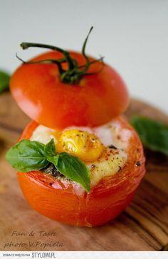 Dziany pomidor!!!! Lekko i dietetycznie! Tak podane ja… na Stylowi.pl