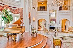 Reminds me of a Viennese apartment :)