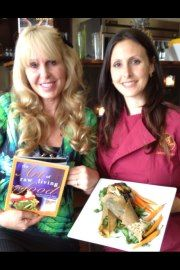 Jenny Ross with Co author Doreen Virtue!