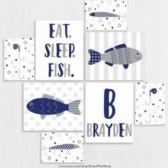 fishing theme nursery