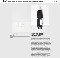 Read our latest interview with the amazing Bast Magazine, thank you! http://bast-magazine.com/2014/04/22/orphan-bird-interview/