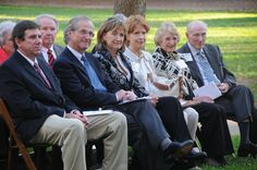 Vann family and friends at the Center's dedication.
