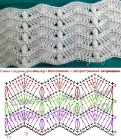 Transcendent Crochet a Solid Granny Square Ideas. Inconceivable Crochet a Solid Granny Square Ideas. Punto Zig Zag Crochet, Crochet Ripple, Crochet Diagram, Crochet Chart, Crochet Motif, Free Crochet, Chevron Crochet, Crochet Stitches Patterns, Crochet Designs
