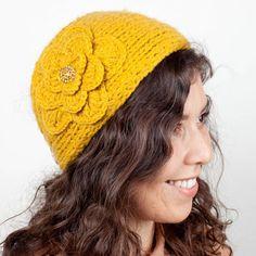Posy Knit Headband