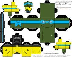 Cubee - Captain Leonardo by CyberDrone on deviantART