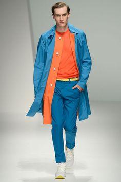 #SalvatoreFerragamo my god! i love these colors #mfw #ss13 #orange #blue