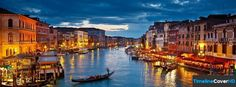 Amazing Venice Italy Timeline Cover 850x315 Facebook Covers - Timeline Cover HD