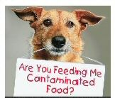 Warning: U.S. manufactured pet foods the CC found to contain aflatoxin B1: Purina One Smart Blend Chicken & Rice Formula Adult Dog Food, Hill's Science Diet Adult Optimal Care Cat Food, AvoDerm Natural Chicken & Herring Meal Formula Adult Cat Food, (..carcinogen found in grains such as corn, barley & rice.) & CC reported their testing found melamine in: Solid Gold Adult Dog Food, Iams Chicken Cat Food, & cyanuric acid in: Purina Pro Plan Salmon Cat Food *Please Spay, Neuter & Adopt ♥