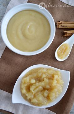 Puré de manzana casero www.pizcadesabor.com