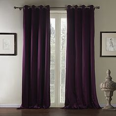 (One Pair) Traditional Solid Luxuriant Eco-friendly Curtain  – USD $ 139.99