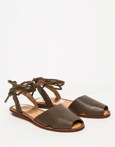 ba50aad88763 Damalis in Olive Wedge Loafers