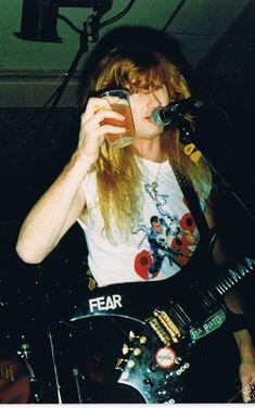 Dave Mustaine Wife, Hard Rock, Metallica, Nick Menza, Marty Friedman, David Ellefson, Heavy Metal Rock, Joan Jett, Thrash Metal