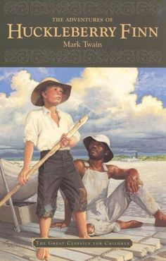 "The Adventures of Huckleberry Finn. ""In my library."" #TheTravelingMan michaelpking.org"