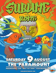 JUST ANNOUNCED: Sublime with Rome on Saturday, August 9th at 8pm at The Paramount (Huntington, NY)
