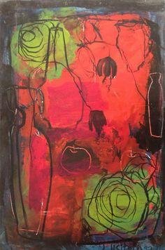 Artwork by Julie Heffernan - SAW artist NZ Art Show 2013