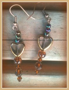 I Heart You by ForHerEarsOnly on Etsy, $14.00
