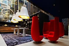 Equal parts decadence and whimsy, the recently opened Andaz Amsterdam Prinsengracht Hotel is a project by interior designer, Marcel Wanders.