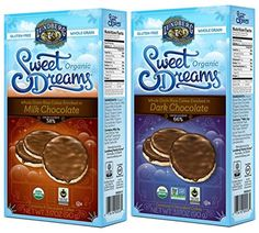 Lundberg Organic GlutenFree Sweet Dreams Chocolate Rice Cakes 2 Flavor Variety Bundle 1 Sweet Dreams Milk Chocolate Rice Cakes  1 Sweet Dreams Dark Chocolate Rice Cakes 317 Oz Ea 2 Boxes *** Check out the image by visiting the link.