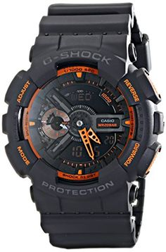 Casio Men's GA-110TS-1A4 G-Shock Analog-Digital Watch Wit...