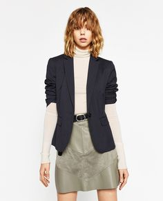 Image 2 of CONTRAST MINI SKIRT from Zara