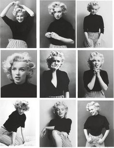 Marilyn Monroe photographed by Ben Ross, 1953