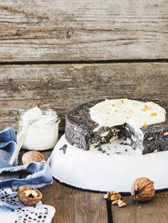 DJ1: Maková nepečená torta Camembert Cheese, Poppy, Cheesecake, Dairy, Food, Cheesecakes, Essen, Meals, Yemek